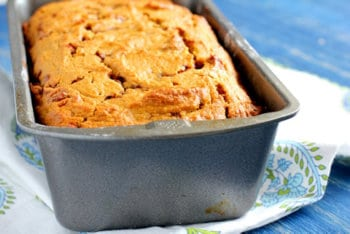 Jiffy  mix pumpkin bread