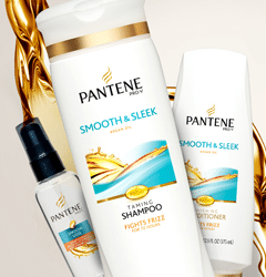 Free Pantene Pro-V Smooth & Sleek Shampoo and Conditioner Sample
