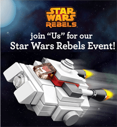 Free Star Wars Rebels Event for Kids at Toys R Us Today