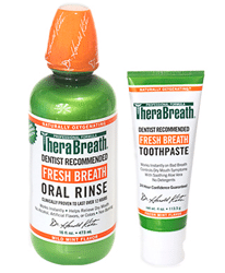 Free TheraBreath Sample