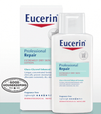 Free Eucerin Professional Repair Lotion Sample