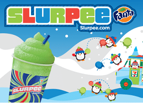 Free Fanta Sour Green Apple Slurpee at 7-Eleven
