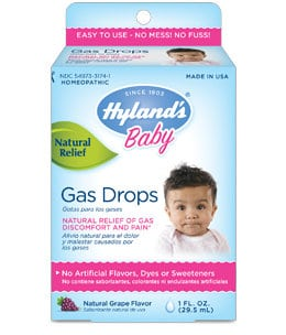 Hylands Baby Gas Drops Giveaway 9am EST 11/20/2014 [Facebook]