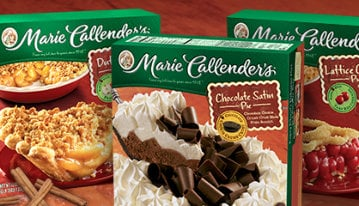 Marie Callender's Dessert and Meal Coupons