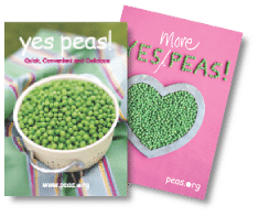 Free Yes Peas! Recipe Book (UK Only)