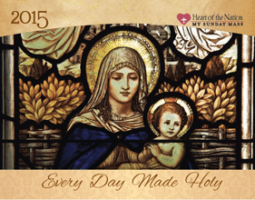 Free 2015 Catholic Art Calendar