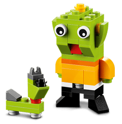 Free LEGO Alien and Space Dog Mini Build at LEGO Stores on 1/6