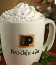 Free Beverage at Peets Coffee & Tea Today