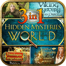 Free 3-1 Hidden Object: Hidden Mysteries World Game for Android Devices