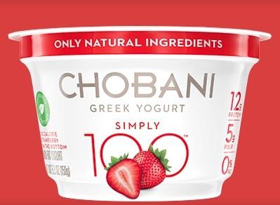 Free Chobani Simply 100 Greek Yogurt At Kroger & Affiliated Store