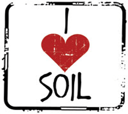Free I Love Soil Sticker