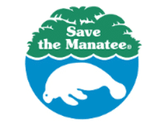 Free I Love Manatees Sticker and Bookmark