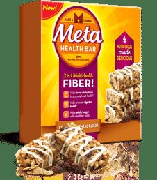 Free Metamucil Cinnamon Oatmeal Raisin Meta Health Bar