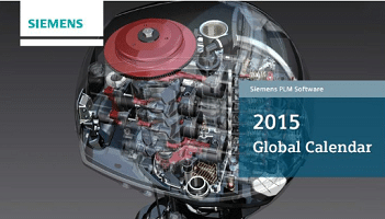 Free Siemens 2015 Desktop Calendar (Company Name Required)