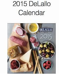 Free 2015 DeLallo Calendar (Last Chance)