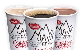 Free Small Java Ridge Coffee At Kum & Go