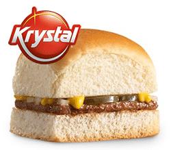 Free Krystal Burger at Krystal Today