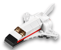 Free LEGO Space Shuttle Mini Build at LEGO Stores Today