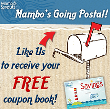 Free Mambo Sprouts Mailed Coupon Book