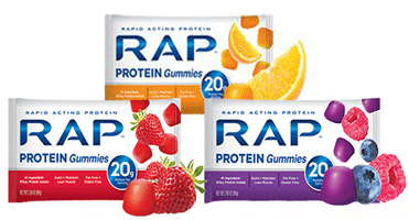 Free Rap Protein Gummies at Tedeschi Food Shops