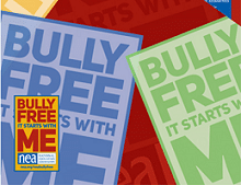 FREE Bully Free Pin, Poster and Sticker (Educators Only)
