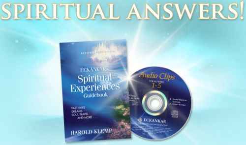 Free Spiritual Experience CD & Book