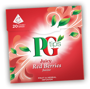 Free PG Tips Red Berry, Green Tea Sample (UK Only)