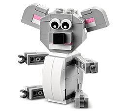Free LEGO Koala Mini Build at Lego Stores on 5/5