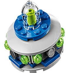 Free LEGO UFO Mini Build at Lego Stores on Today