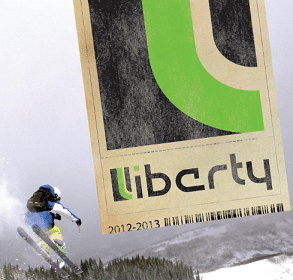 Free Liberty Skis Stickers (Facebook Like Required)