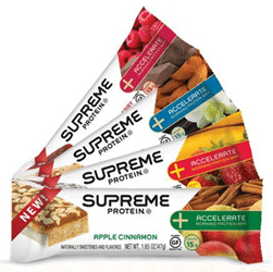 Free Supreme Accelerate Protein Bar at Tedeschi Food on 4/17