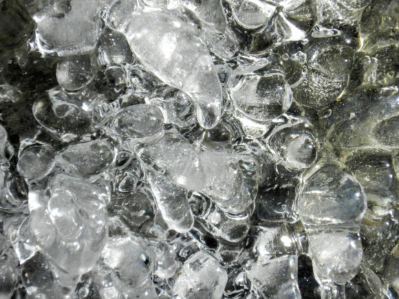 So much ice.