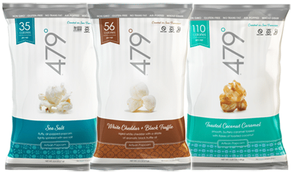 Free 479 Degrees Popcorn Product Coupons (Facebook Required)