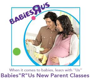 """Free Babies""""R""""Us New Parent Classes"""