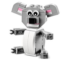 Free LEGO Koala Mini Build at Lego Stores on 5/5