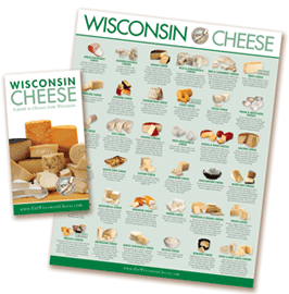 FREE Wisconsin Cheese Variety Guide [Verified Received By Mail]