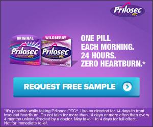 Free Prilosec OTC Sample