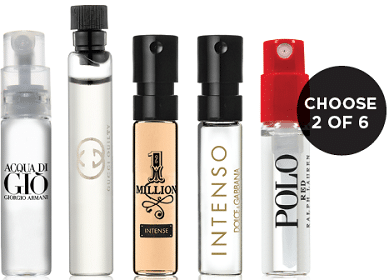 Free 2 Cologne Samples from Sephora at JCPenney