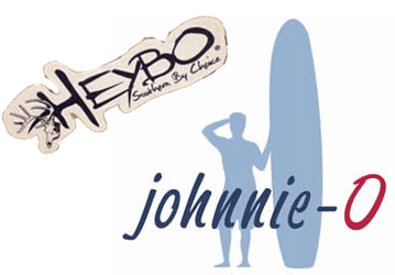 Free Heybo and Johnnie-O Stickers