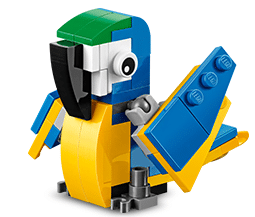 Free LEGO Parrot Mini Build at Lego Stores Today