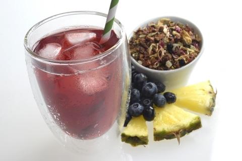 Free Pineapple Berry Blue Iced Tea at Teavana on June 10