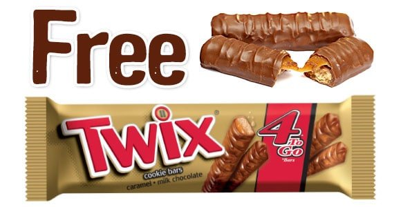 Free Twix 4 To Go At RaceTrac