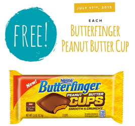 Free Butterfinger Peanut Butter Cups at Tedeschi Food Shops (Today)