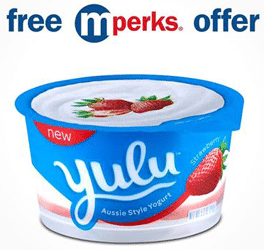 Free Yulu Aussie Style Yogurt at Meijer