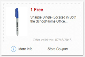 Free Sharpie Single at Meijer