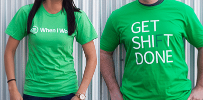 "Free ""When I Work"" or ""Get Shift Done"" T-Shirt"