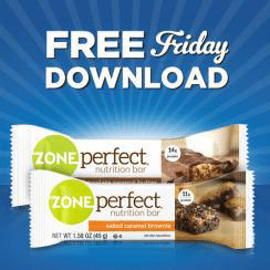 Free ZonePerfect Nutrition Bar at Kroger