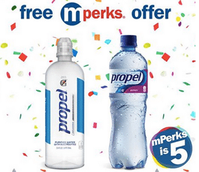 Free Propel Electrolyte Water or Fitness Water at Meijer