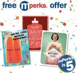 Free justWink Card at Meijer