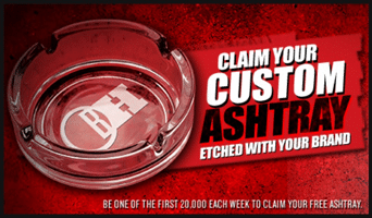 Free Custom Ashtray from Marlboro (Every Monday)